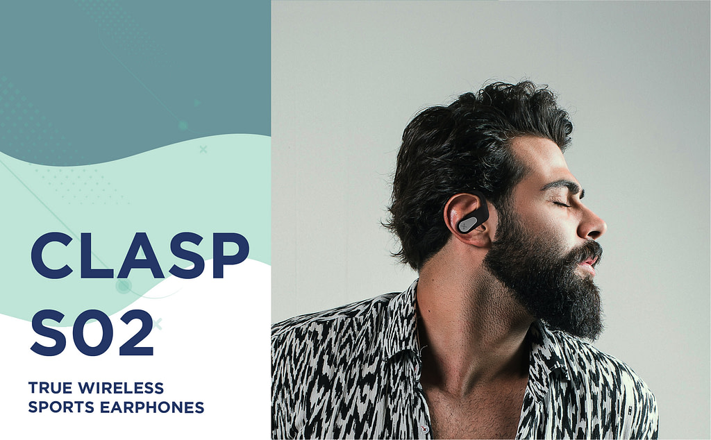 Clasp S02 earbuds