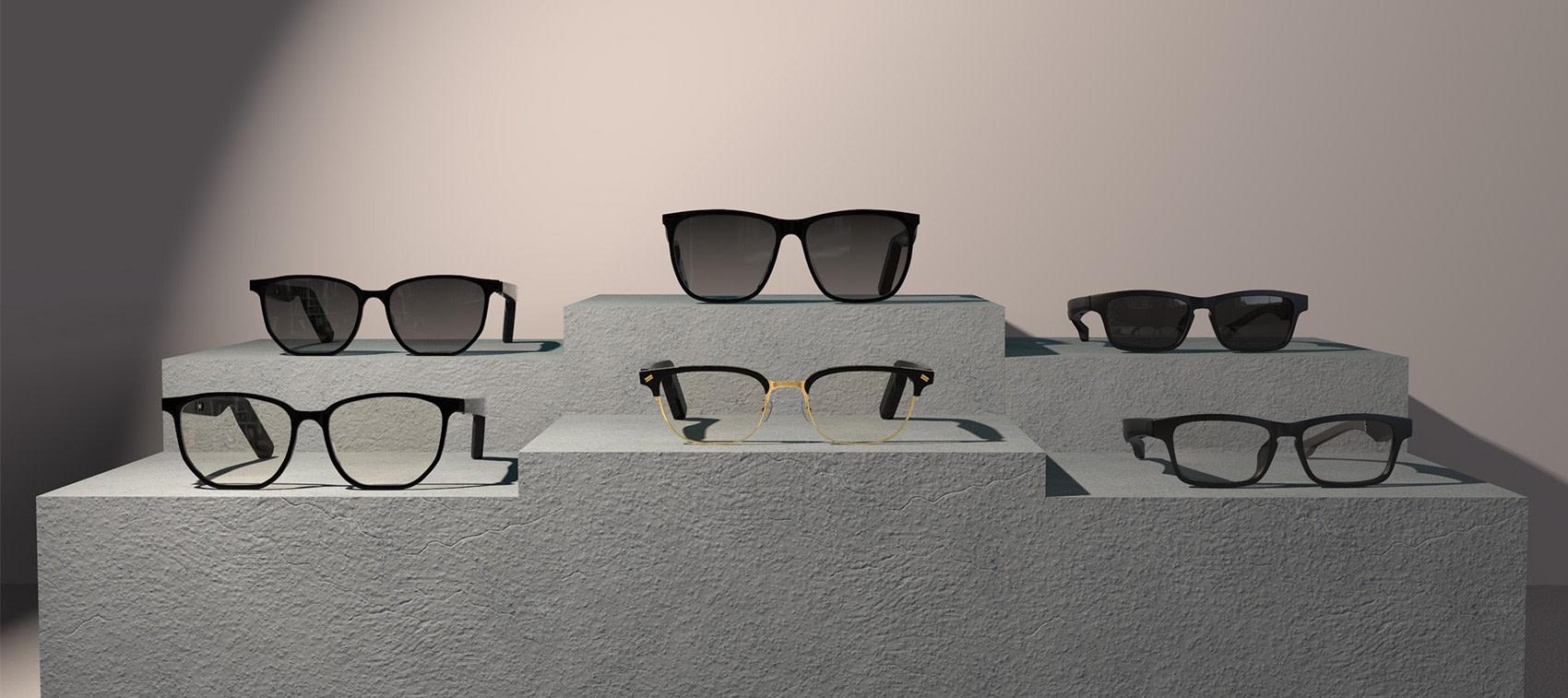 wide range of eyewear with wireless music