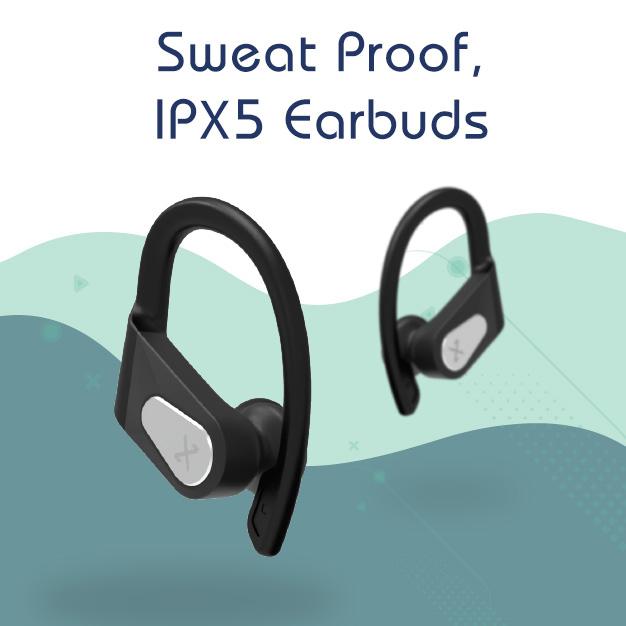 IPX5 Sweat proof