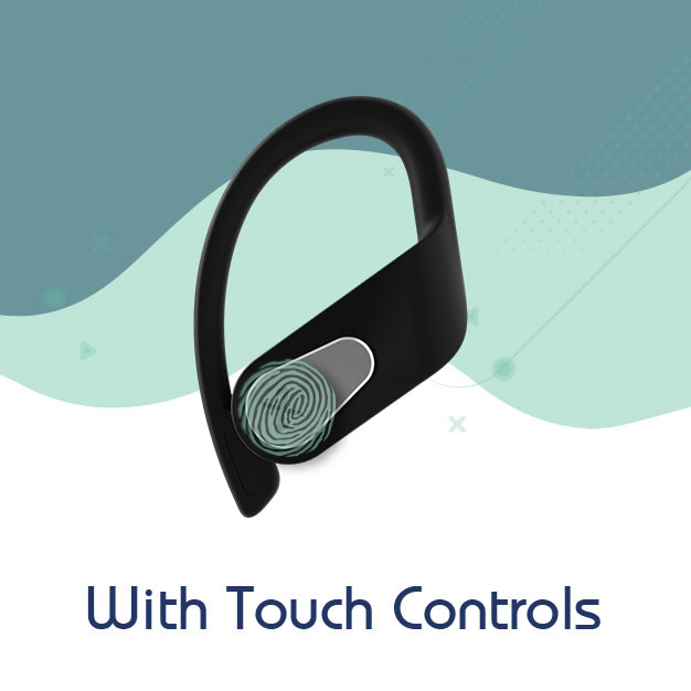earbuds with touch
