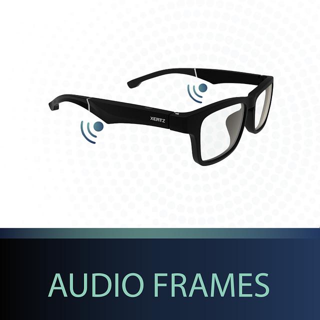 open ear audio frames