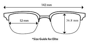 Elite size guide