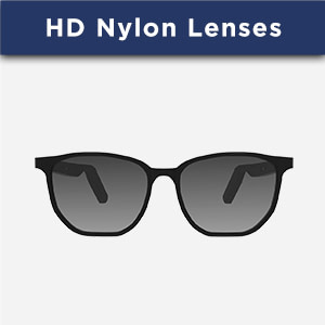 carbon with hd nylon lens