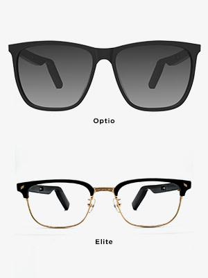 optio vs elite vs carbon audio frames