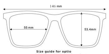 audio sunglasses size